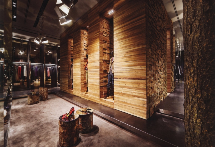 Dsquared2 milan retail design blog for Milano design shop