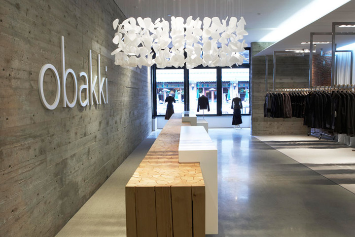 Obakki vancouver retail design blog for Fashion retail interior design