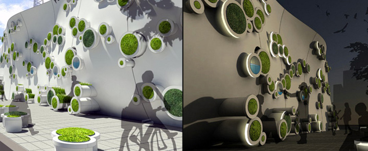 Symbiotic Green Wall Retail Design Blog