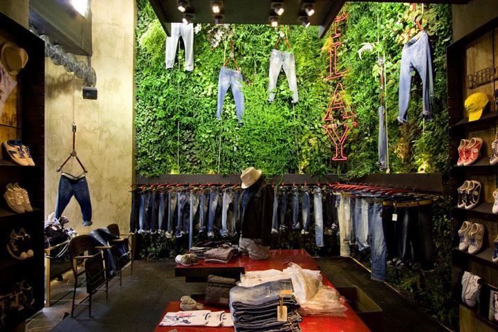 专卖店设计 | 佛罗伦萨服装店设计