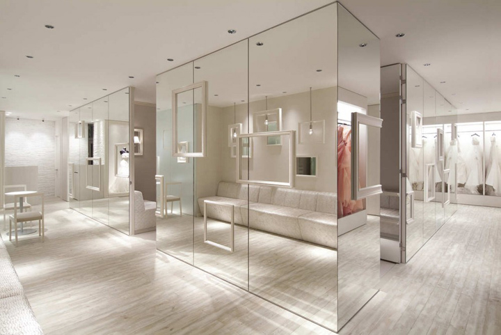 Bridal magic by process5 design himeji retail design blog for Boutique room design