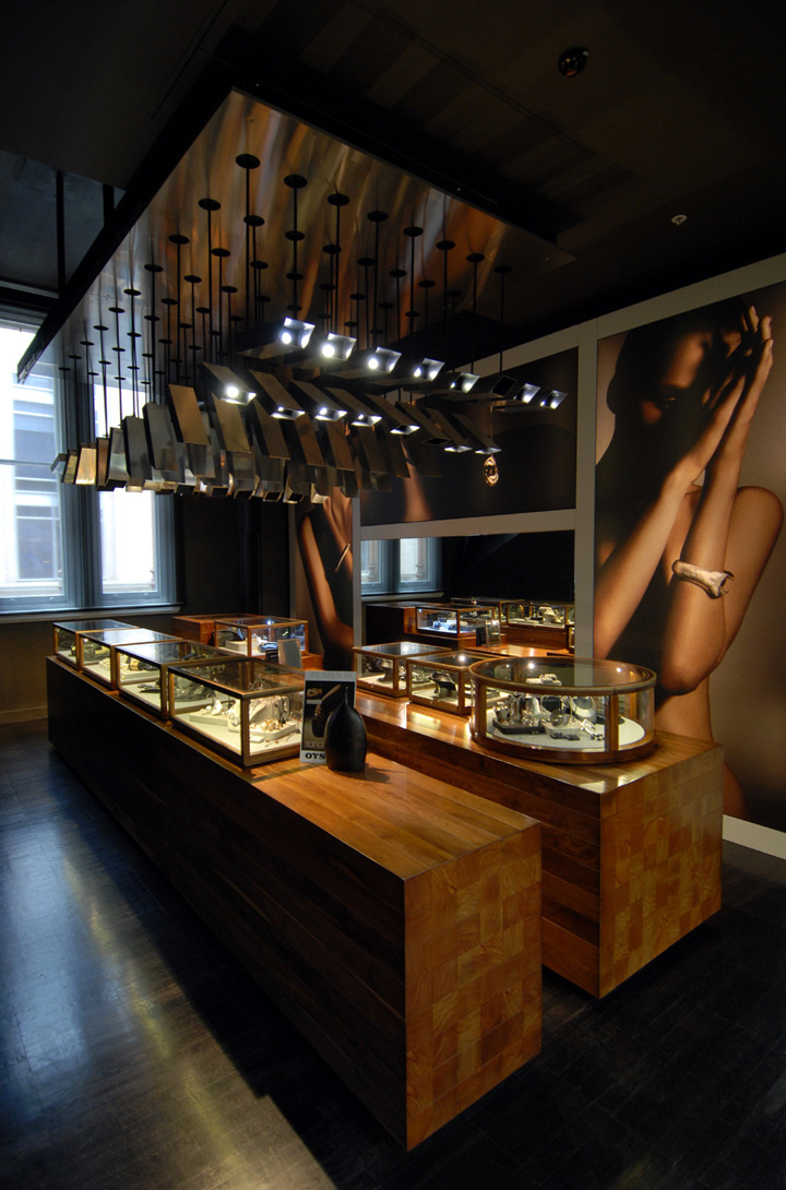 Jewellery shop design of bunda boutique by snell - Interior design for retail stores ...