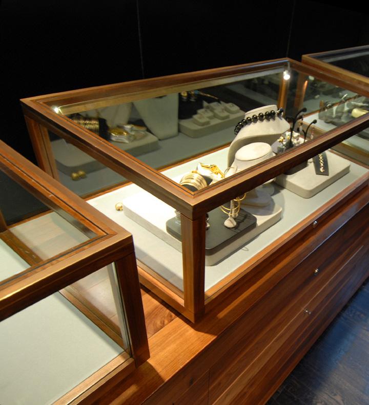 Interior Design Furniture Stores Australia ~ Jewellery shop design of bunda boutique by snell