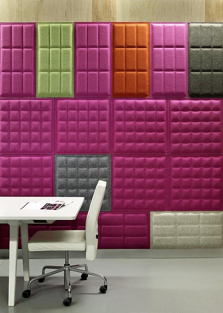 Eco Felt Buzziskin 3d Tiles The Revolution Of Tiles