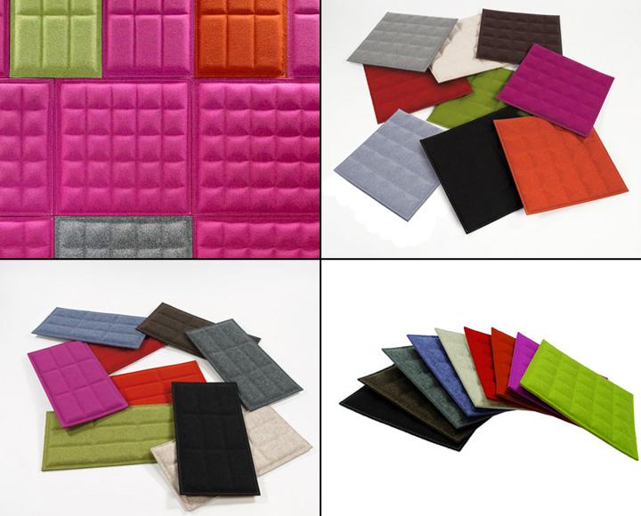 187 Eco Felt Buzziskin 3d Tiles The Revolution Of Tiles