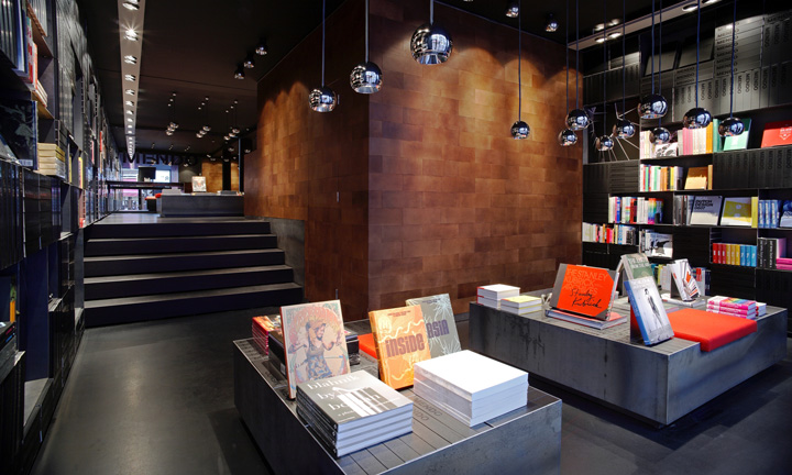 Bookstore retail design blog Interior design shops amsterdam
