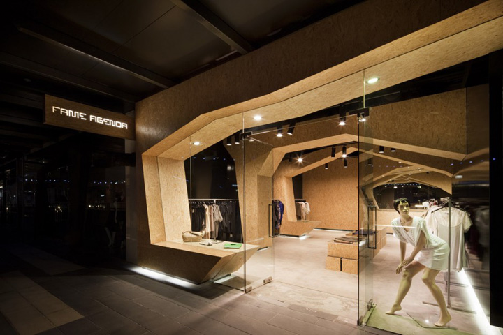 Fashion store interior fame agenda by matt gibson retail for Retail store interior design