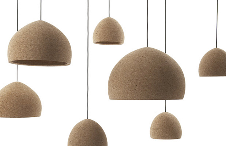 Float Pendant Light Form Cork Retail Design Blog