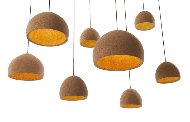 scandinavian lighting fixtures. float pendant light form cork scandinavian lighting fixtures
