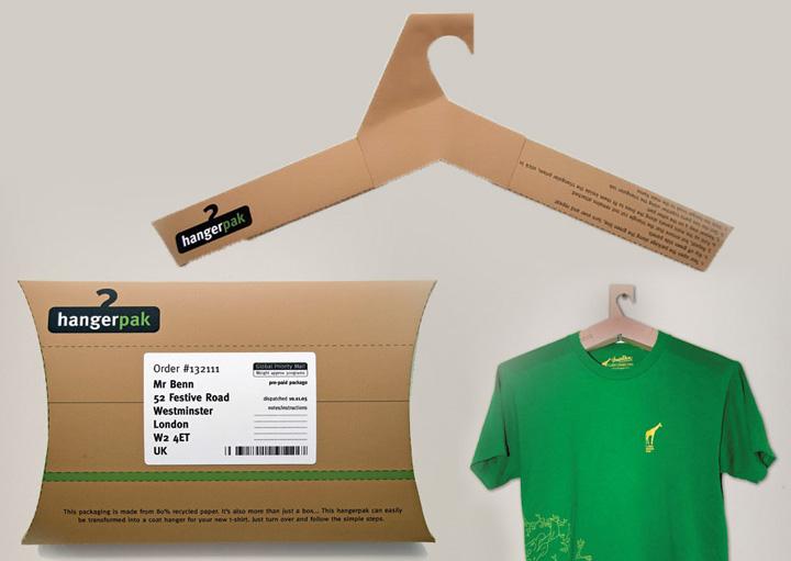 HangerPak  Shirt Packaging Doubling as a Hanger 27d18711e5e36