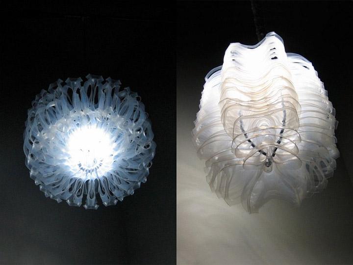 187 Lotus Recycled Plastic Lamps By Bao Khang Luu