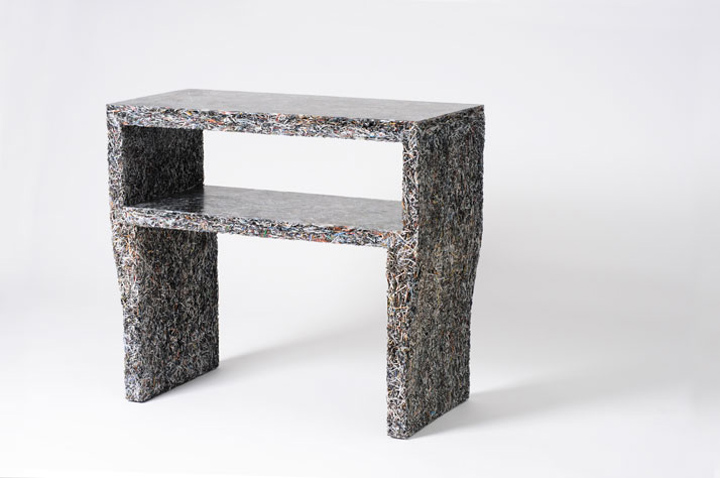 Furniture Made From Magazines