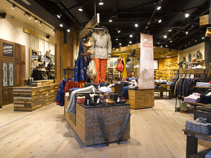 timberland clothing store