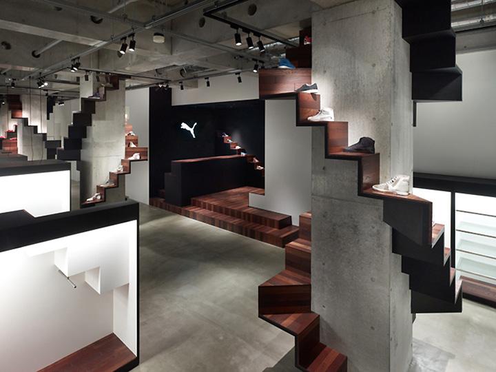 Puma House By Nendo Tokyo Retail Design Blog