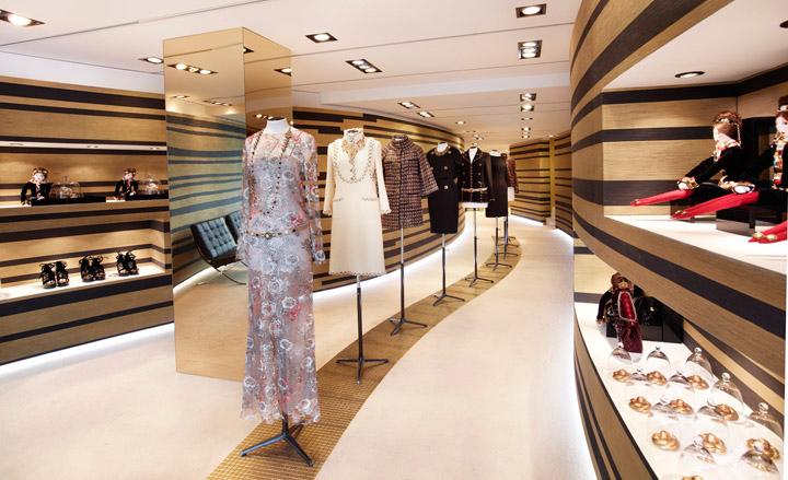 chanel Pop Up Boutique Cannes 187 Retail Design Blog