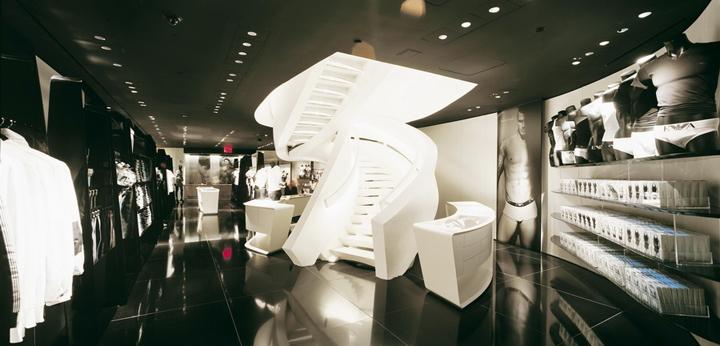 Armani store new york retail design blog for Armani store nyc