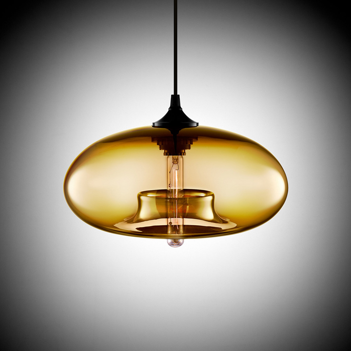 glass blown pendant lighting. aurora modern pendant light by jeremy pyles for niche glass blown lighting s