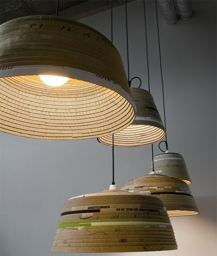 beute lamp by michael wolke