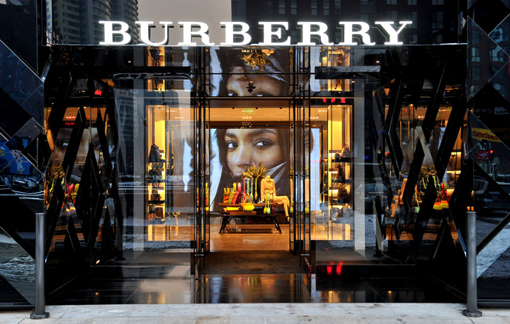 Burberry flagship store Beijing 02 Burberry flagship store Beijing