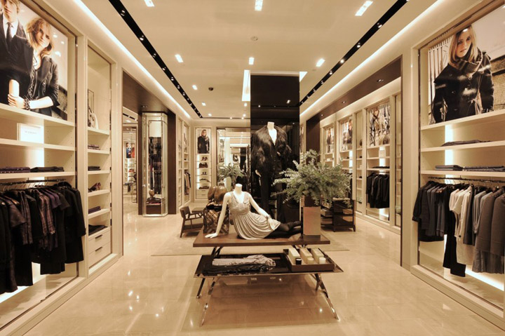 Burberry Store Singapore 187 Retail Design Blog
