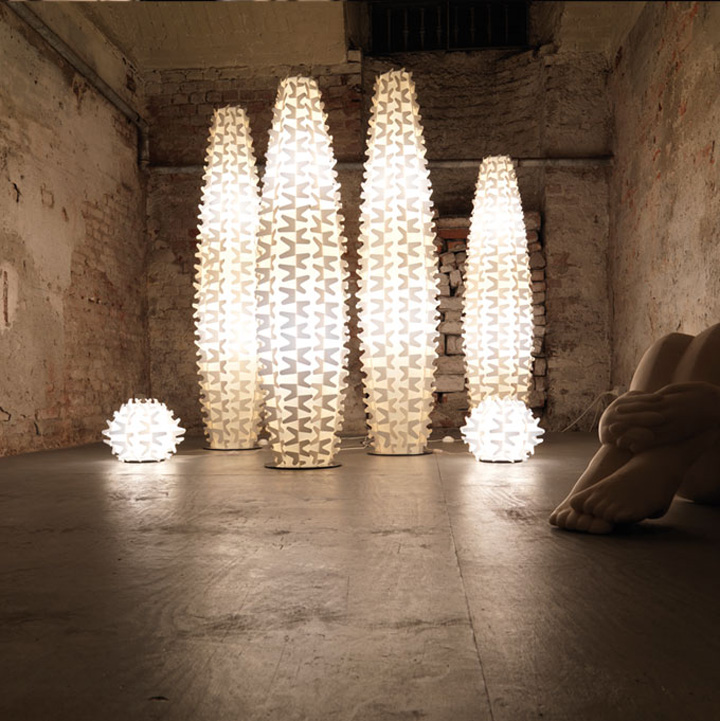 Cactus Lamp By Slamp 187 Retail Design Blog