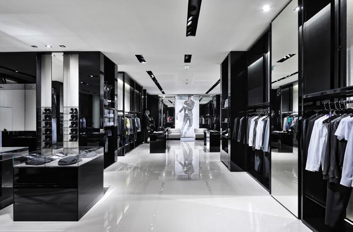 Entrance area retail design blog for Giorgio aldo interior designs