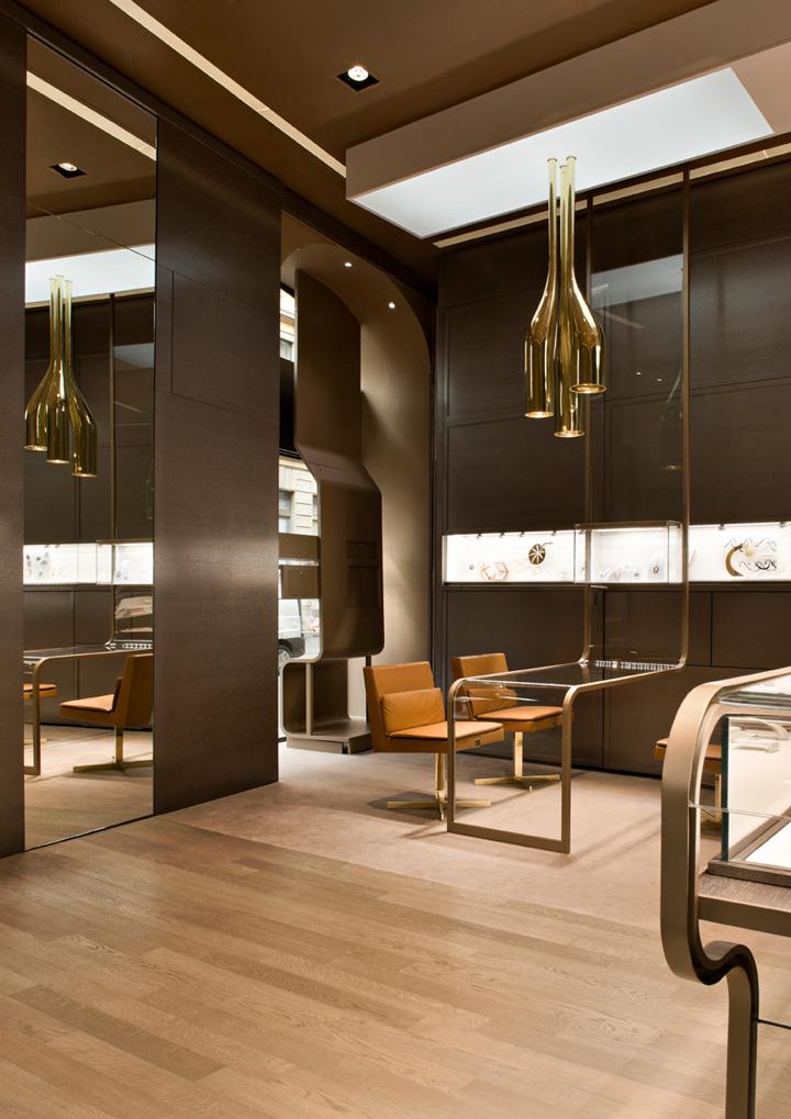 Faraone jewelery boutique by iosa ghini associates milan for Jewellery shop interior designs