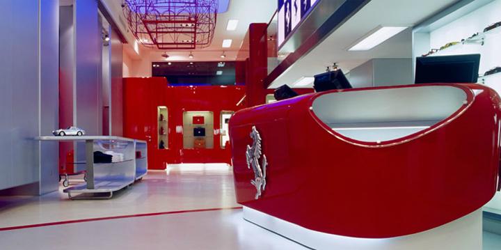 The Ferrari Store Chain. Massimo Iosa Ghini ...