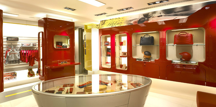 Http://www.architecture Page.com/go/projects/the Ferrari Store Milan__all