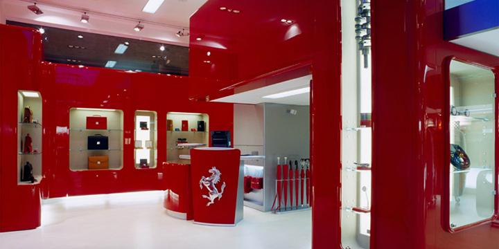 Ferrari Store by Massimo Iosa Ghini 7e3b13c25e