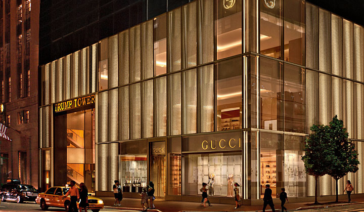 gucci flagship store 5th avenue new york. Black Bedroom Furniture Sets. Home Design Ideas