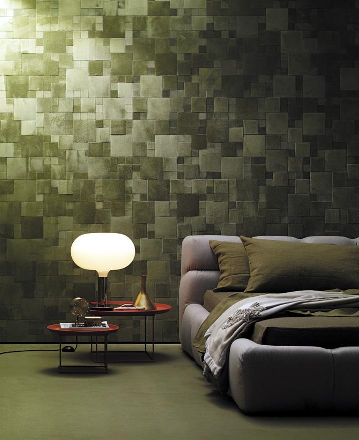 Bedroom Decor Design Ideas Bedroom Tiles Colours Mobile Home Bedroom Decorating Ideas Double Bed Bedroom: Leatherwall By Studioart » Retail Design Blog