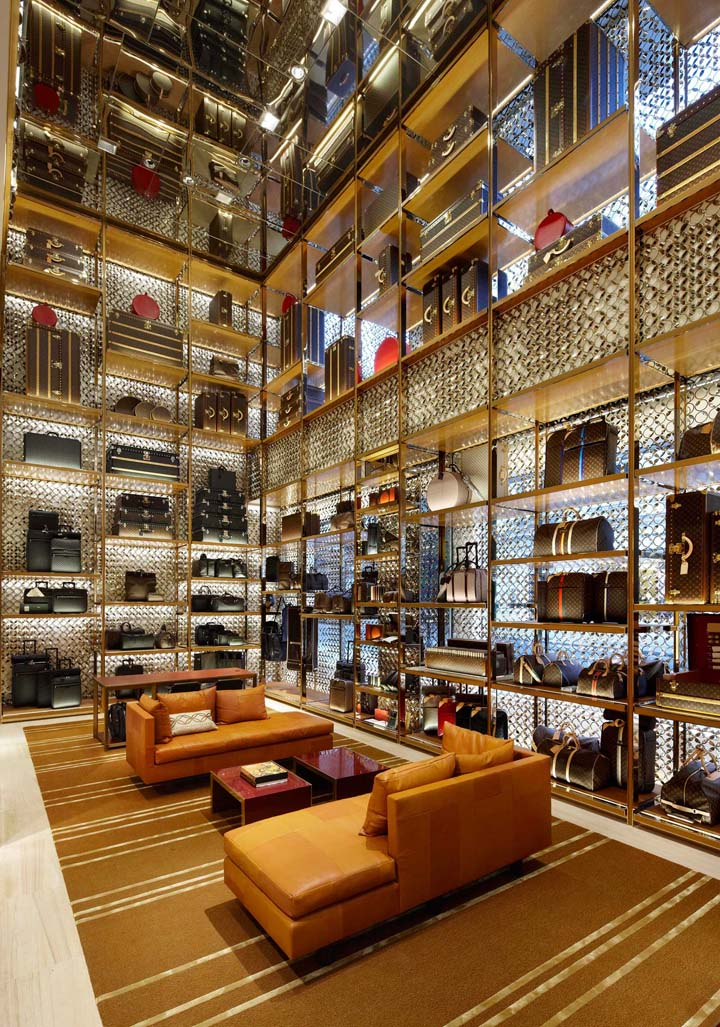 Louis vuitton store retail design blog Interior design stores london