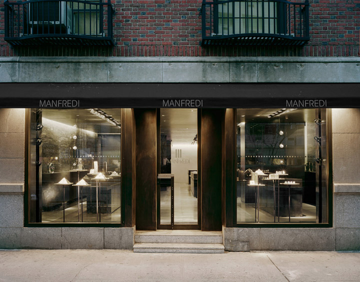 Manfredi Jewelry Store by De-spec, New York » Retail Design Blog