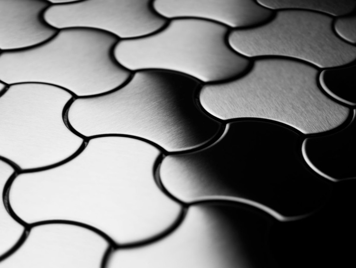 Metal Tiles by Karim Rashid for ALLOY Retail Design Blog