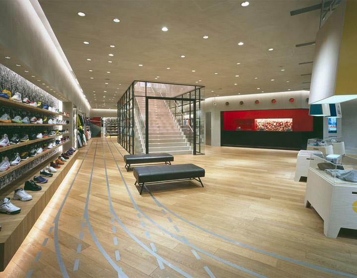 Nike Harajuku By Wonderwall Tokyo 187 Retail Design Blog