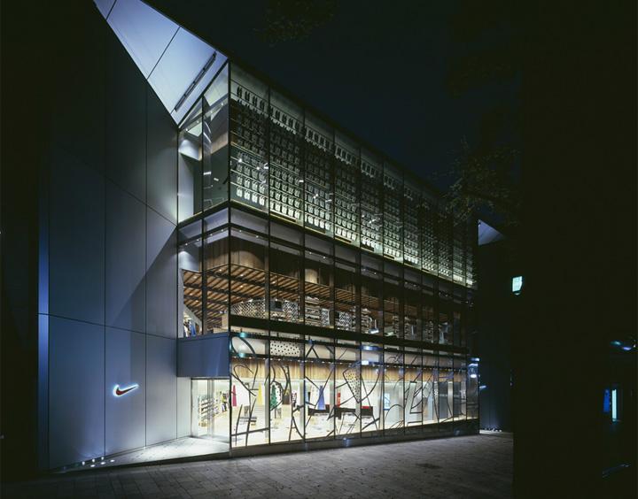 NIKE HARAJUKU By Wonderwall Tokyo Retail Design Blog