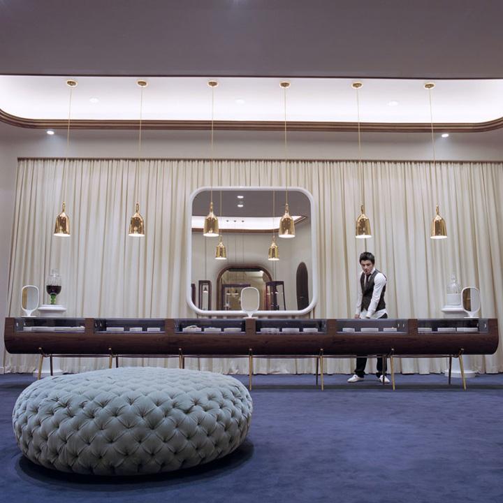 Octium jewelry store design by Jaime Hayon Kuwait Retail Design Blog