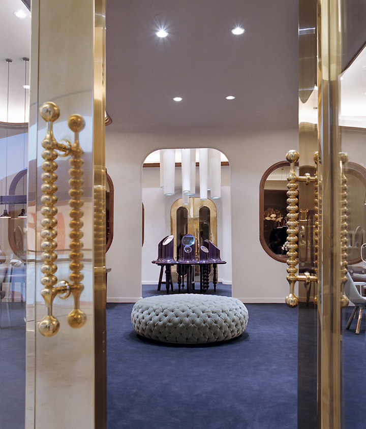 Octium jewelry store design by jaime hayon retail design for Jewellery interior designs