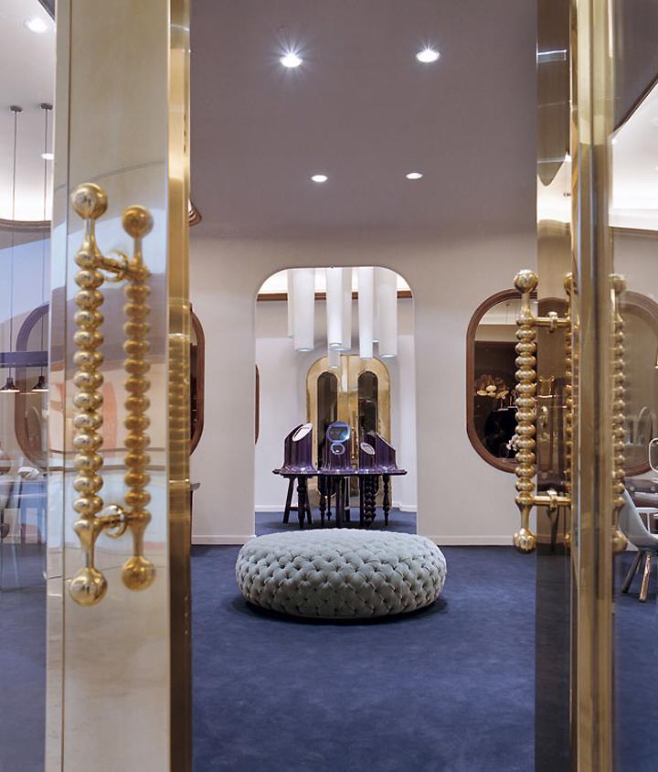 Octium Jewelry Store Design By Jaime Hayon Retail Design