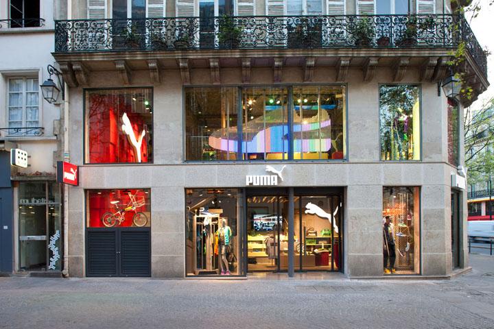 187 Puma Store By Plajer Amp Franz Studio Paris
