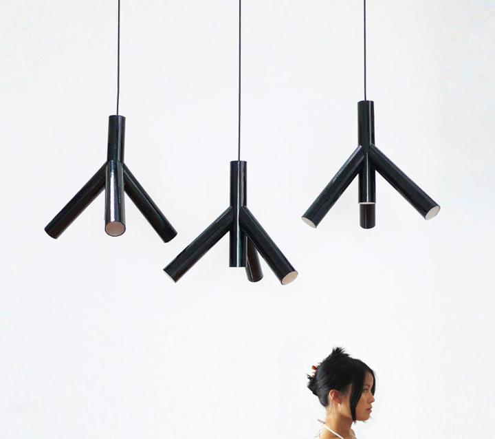 Superior Sprig Lamp By Victor Vetterlein
