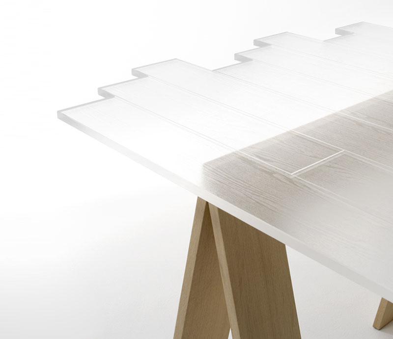Http://thedesignhome.com/furniture/830 Transparent Table By Nendo