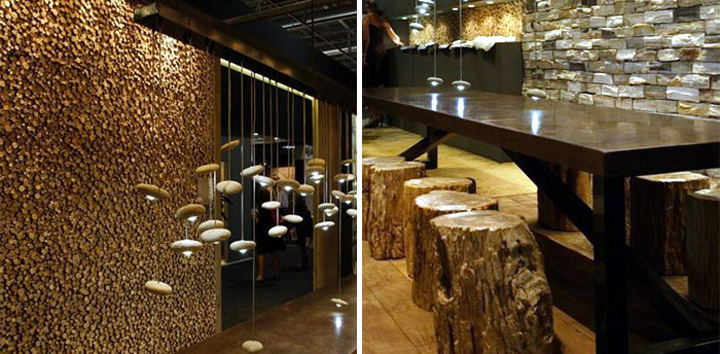 wood pieces by bleu nature retail design blog. Black Bedroom Furniture Sets. Home Design Ideas