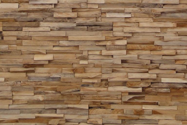Wall Design In Wood : Wooden wall ? retail design