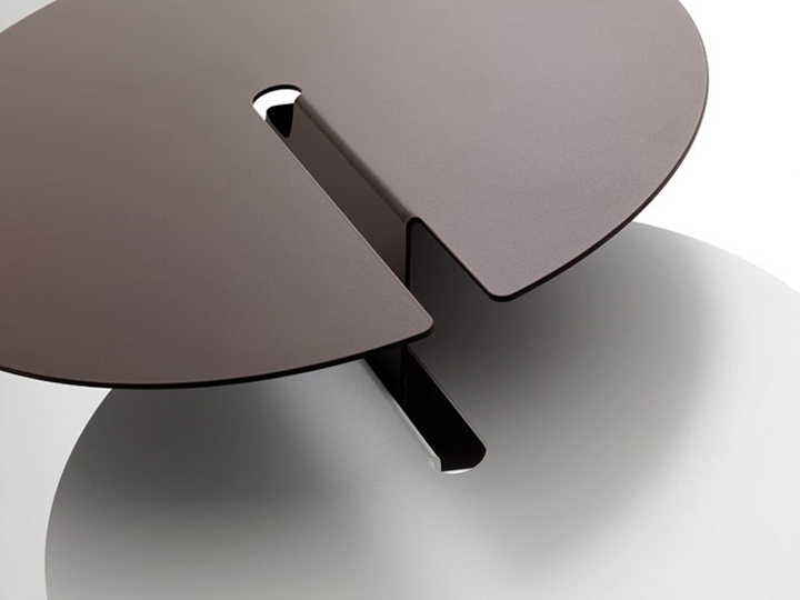 Abra table by neuland industriedesign for b line retail for Industriedesign mobel