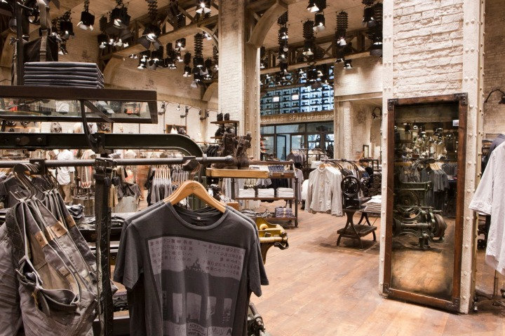 Allsaints Spitalfields Michigan Avenue Chicago 187 Retail