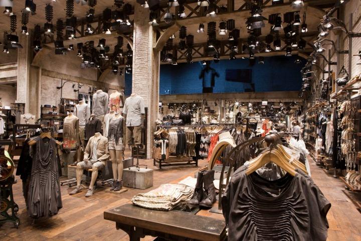 Allsaints Spitalfields Michigan Avenue Chicago 187 Retail