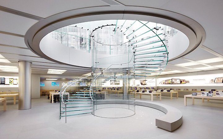 Apple Store by Bohlin Cywinski Jackson Architects Shanghai 02 Apple Store by Bohlin Cywinski Jackson Architects, Shanghai
