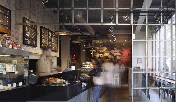 Costa Coffee by Stiff + Trevillion Architects, London » Retail ...
